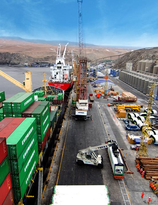 Servicio portuario